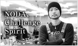 Challenger's spirit of Noda