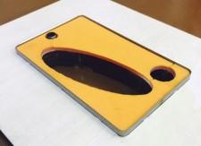ブリスターフックの穴あけ用のトムソン型の製造